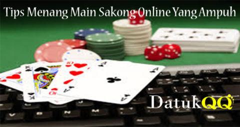 Tips Menang Main Sakong Online Yang Ampuh